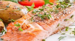 Fırında Somon Balığı Fileto Dilimleri