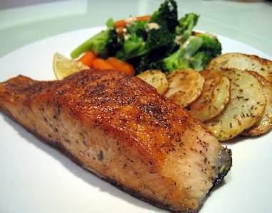 Tavada Somon Balığı Tarifi