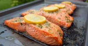 Dijon Hardallı Fırında Somon Balığı Tarifi
