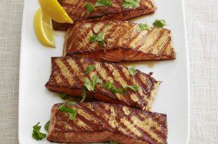 Marine edilmiş Somon balığı Izgara Tarifi