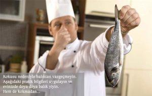 Pratik bilgiler ile evdeki balık kokusu nasıl giderilir