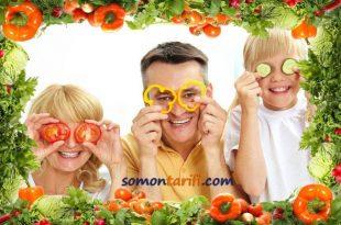 Sağlıklı Yaşam İçin Taze Meyve, Sebze ve Balık Tüketin