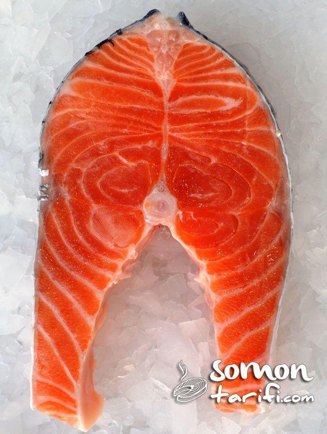 somon balığı dilim