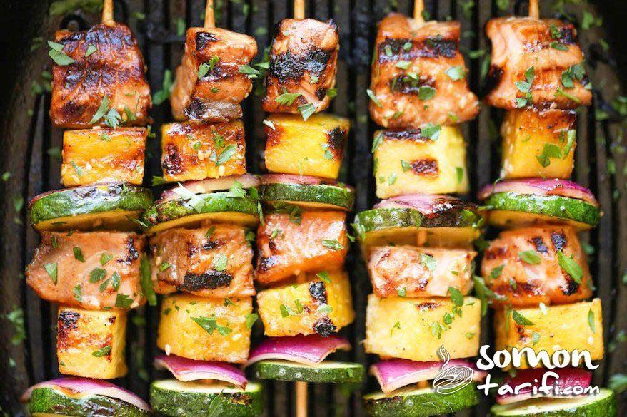 Somon kebabı nasıl pişirilir