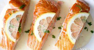 Limon Aromalı Kremalı Somon Fileto Tarifi