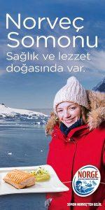 Norveç Somonu - Norge - Norveç deniz ürünleri