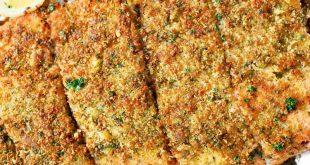 Parmesan Peynirli Çıtır Somon Tarifi